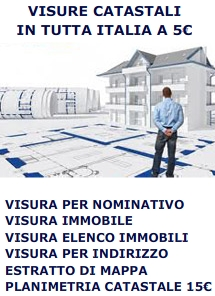 News catasto visura catastale online - Visura catastale per nominativo ...